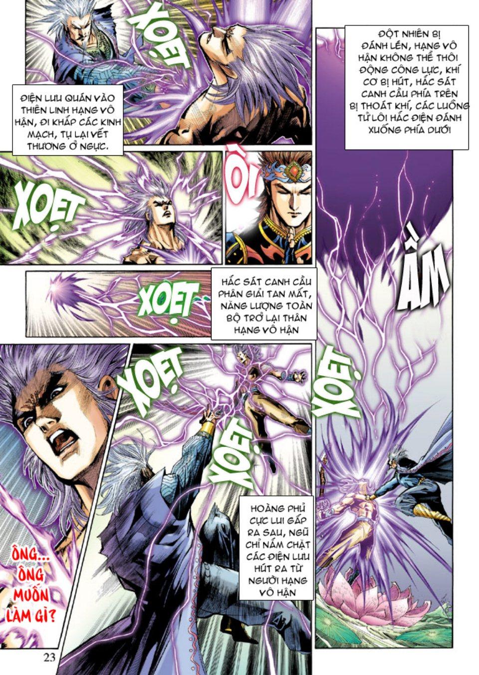 Thiên Tử Truyền Kỳ 5 - Như Lai Thần Chưởng chap 214 - Trang 22