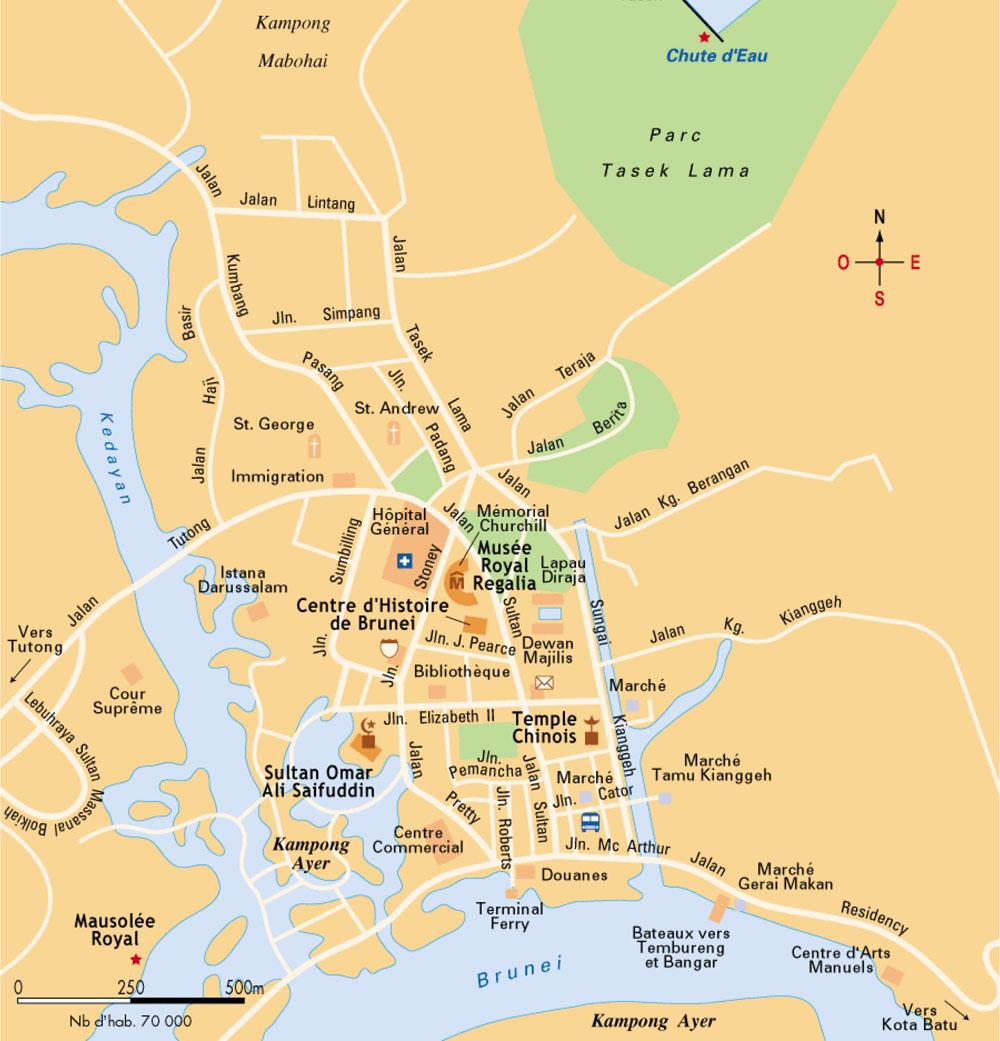 Bandar Seri Begawan Brunei  city images : Mapas de Bandar Seri Begawan Brunei MapasBlog
