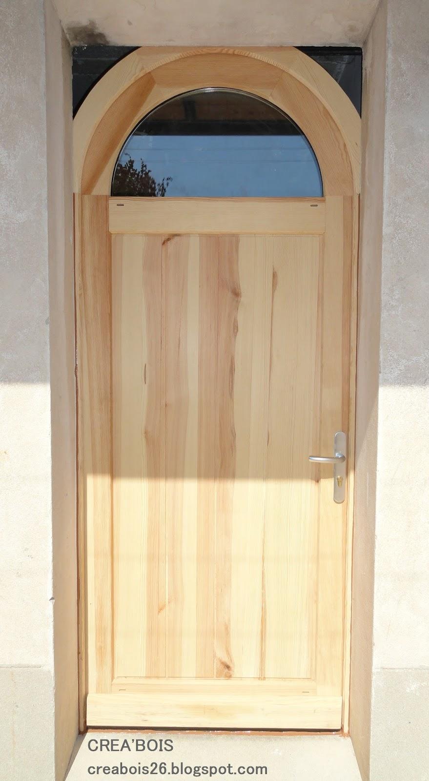 Crea 39 bois portes d 39 entr e - Porte d entree demi ronde ...
