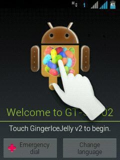 Cara Upgrade Custom Rom Jelly Bean Galaxy Y duos GT-S6102