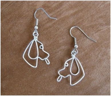 Whimsical Animal Wire Work Jewelry by Chatnoir77 ~ The Beading ...