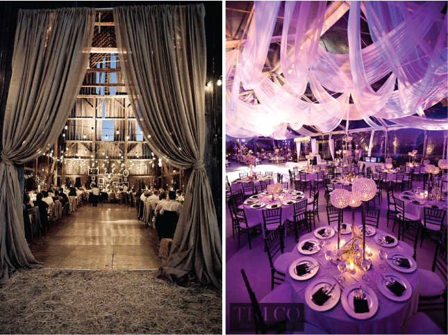 Fabulous Drapery Ideas For Weddings