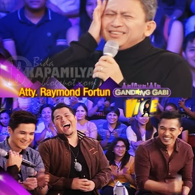 Atty. Raymond Fortun on GGV (Feb 23) with Maki Ricafort, Paolo Onesa, Thor Dulay of The Voice PH