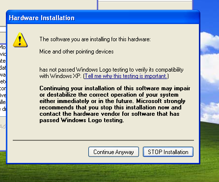 virtualbox guestadditions Hardware installation