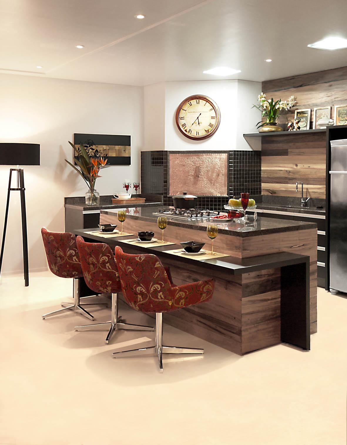 #A94122 Atelier de Arquitetura Arquitetura de qualidade no Alto Vale 1181x1515 px Balcao Mesa Para Cozinha Americana #1143 imagens