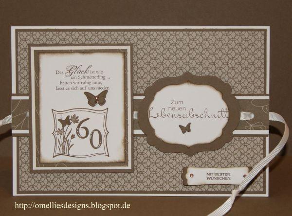 60 geburtstag karten basteln. Black Bedroom Furniture Sets. Home Design Ideas