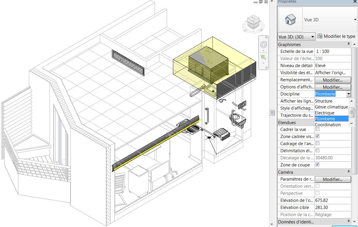 Revit m mo revit 2015 mep plomberie canalisations for Architecte 3d tutorial