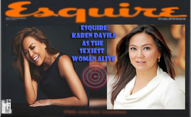 Esquire:Karen Davila as the Sexiest Woman Alive