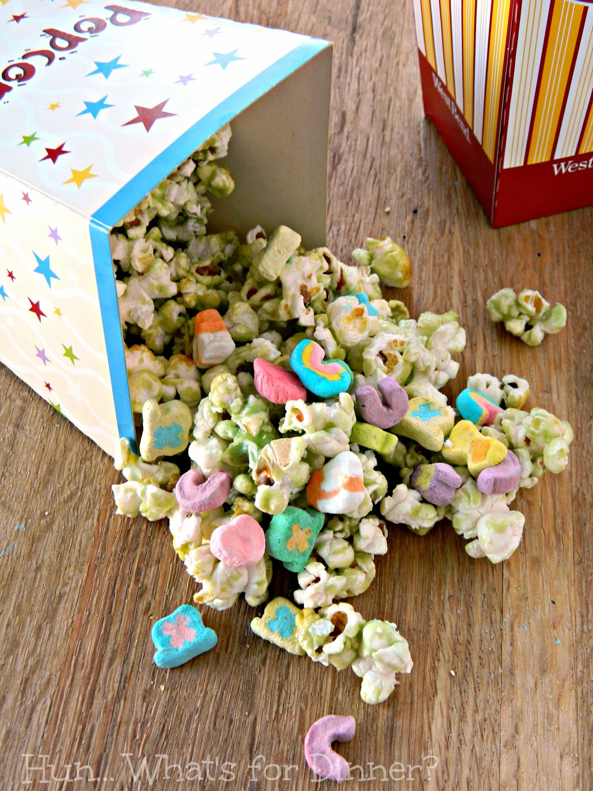 Luck of the Irish St Patrick's Day Popcorn