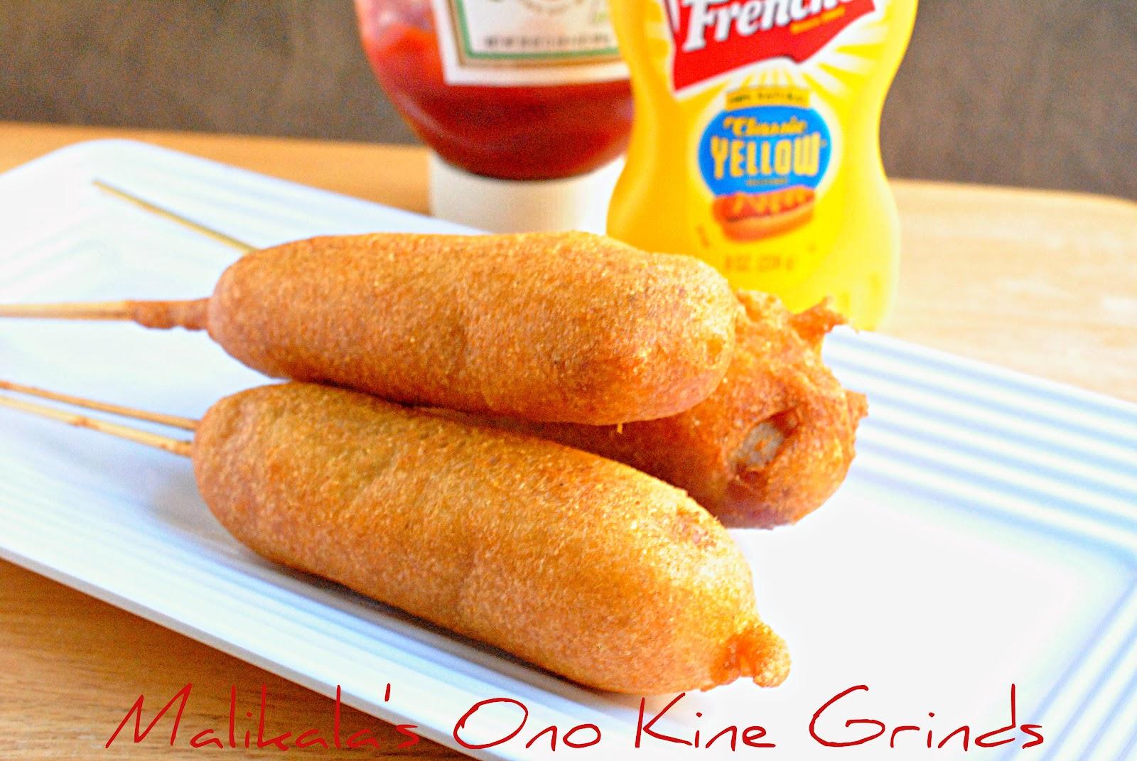 Malikala's Ono Kine Grinds: Corn Dogs