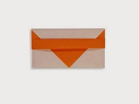 Hướng dẫn cách gấp phong bì bằng giấy đơn giản - Xếp hình Origami với Video clip - How to make a envelope