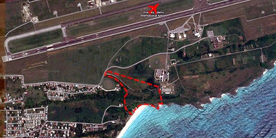 Hotel development site located 5 minutes south of Barbados's international airport