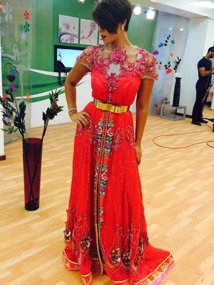 Robe invitee mariage arabe
