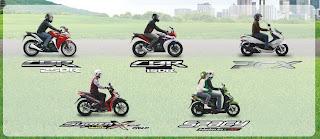 Produk Sepeda Motor Injeksi Irit Harga Terbaik Cuma Honda