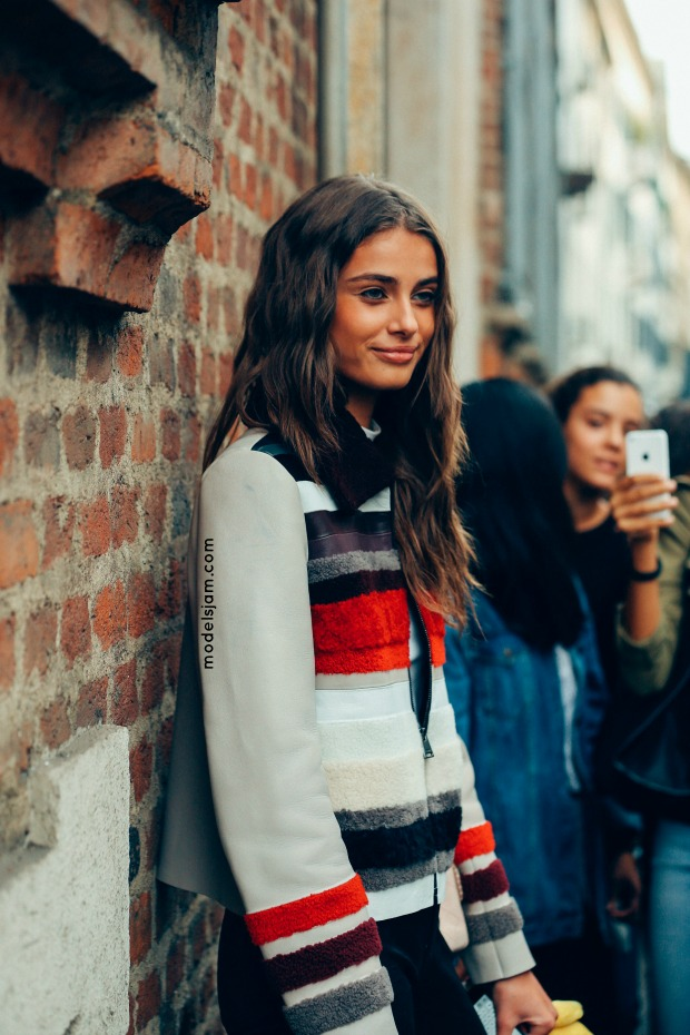 Taylor Hill in Milano.