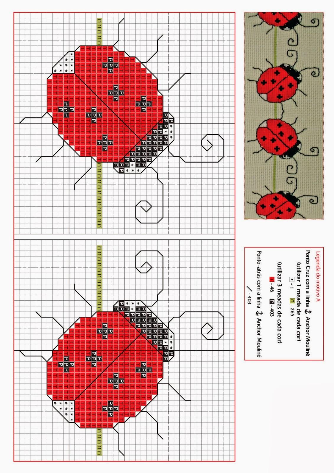 Схемы вышивка бисером божья коровка схема
