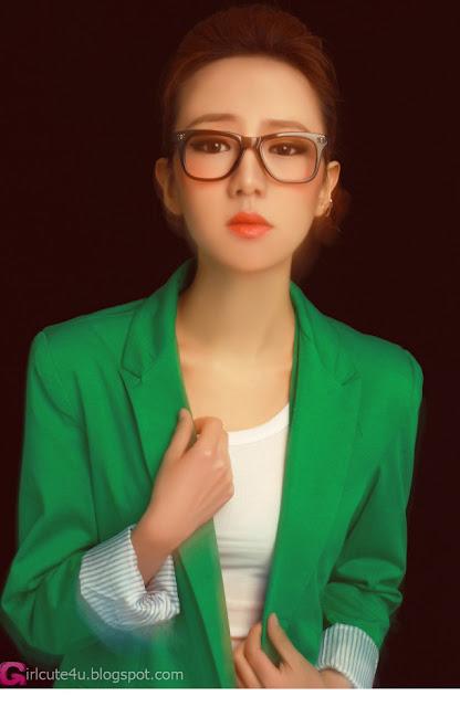 2 Wanni - Green-Very cute asian girl - girlcute4u.blogspot.com