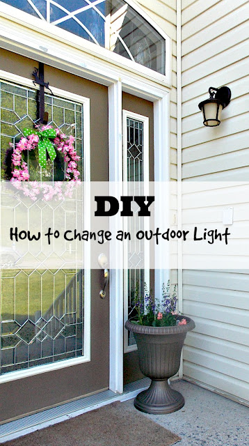 How to Change an Outdoor Light Fixture