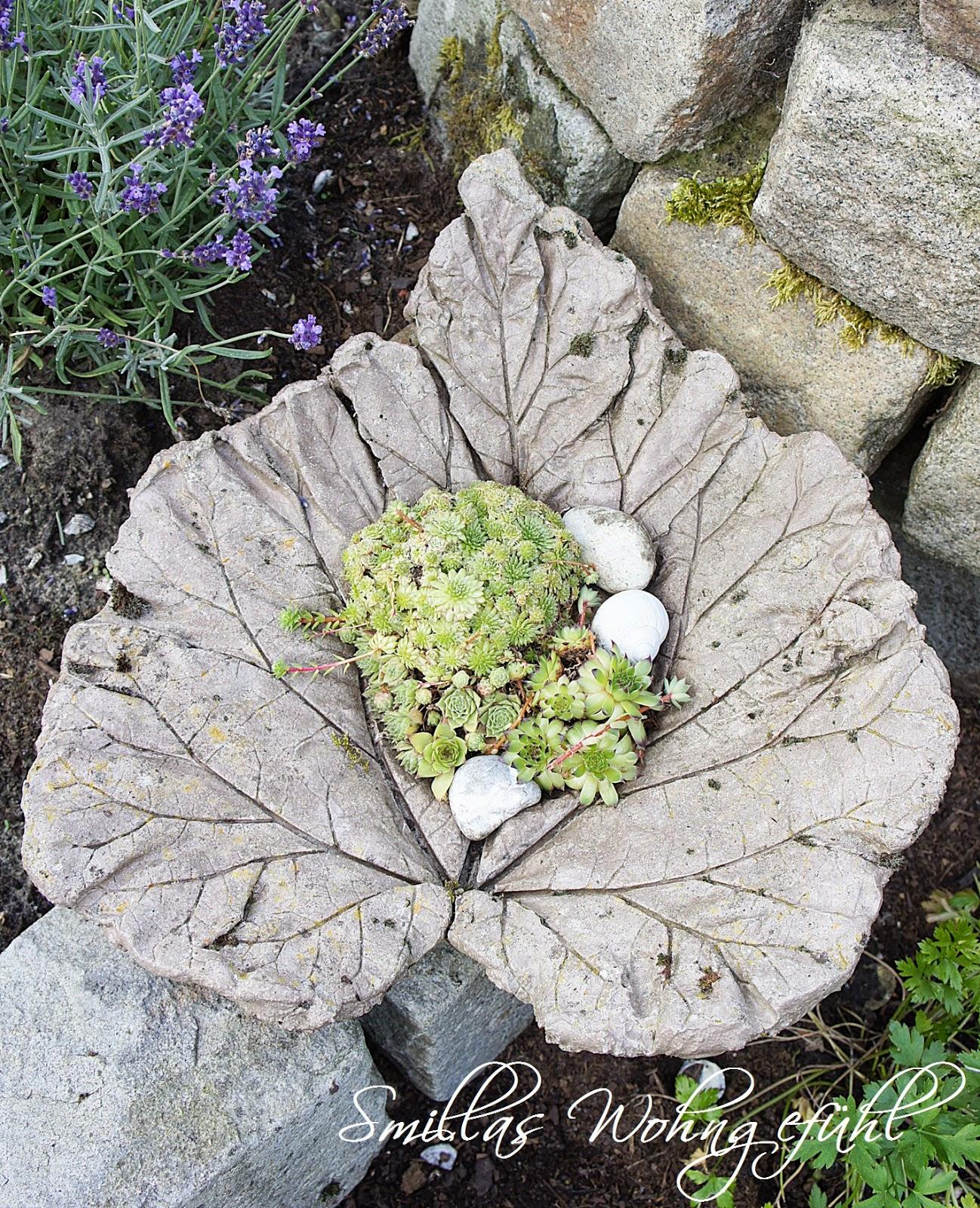 Ehrfürchtig Gartendeko Selber Machen Beton Ideen