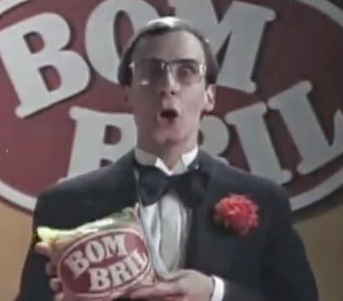 Primeiro comercial do Bombril com Carlos Moreno, em 1978.