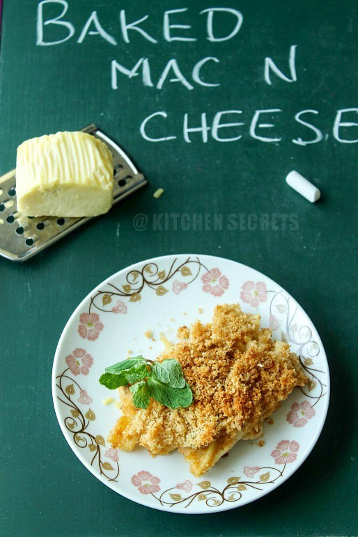 Kitchen Secrets and Snippets: Baked Macaroni and Cheese