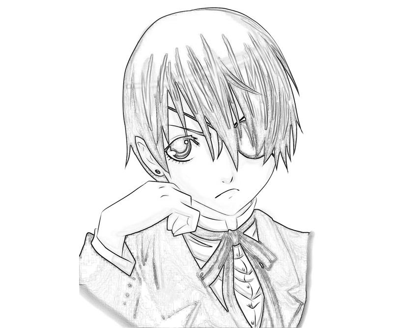 ciel-phantomhive-look-coloring-pages