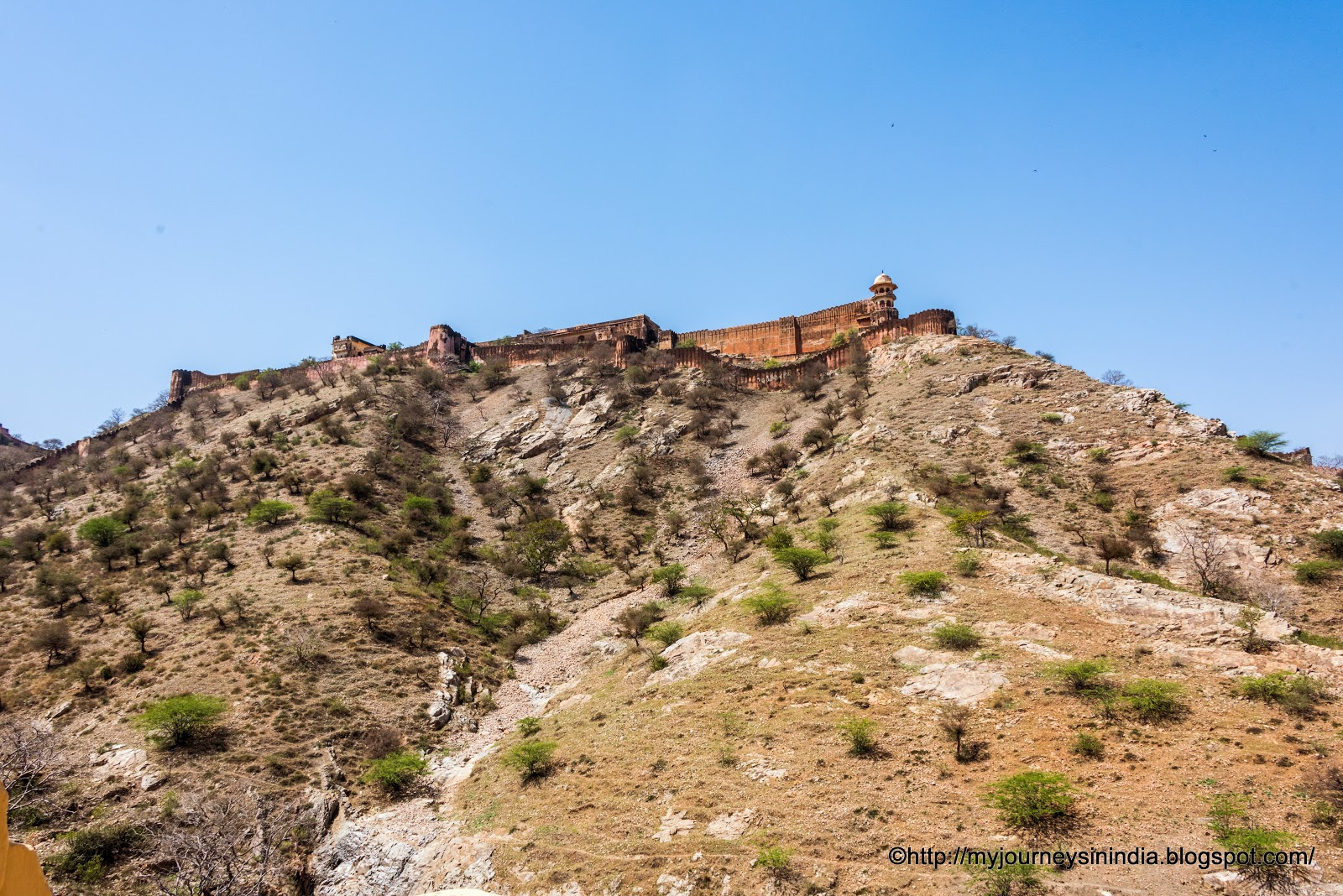 Jaigarh Fort View from Amer Fort Jaipur