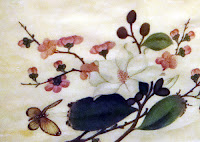 Rice-pith paper painting