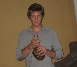 amigo de musicos kichwas del Napo