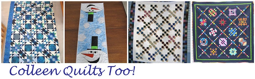 Colleen Quilts Too!