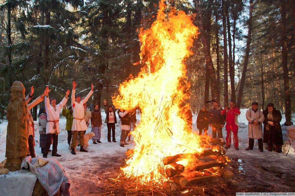 Зимние праздники на украине