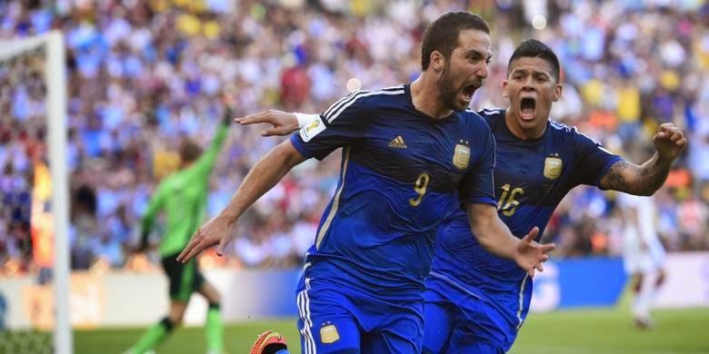 Striker Argentina, Gonzalo Higuain