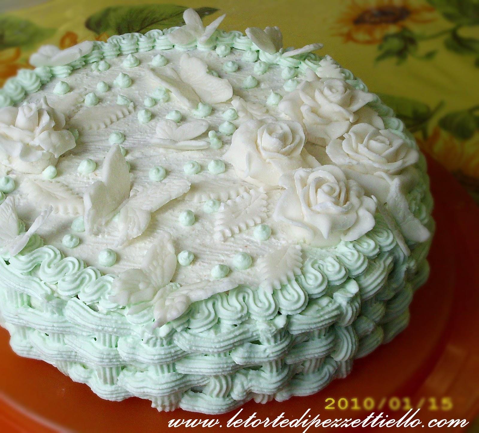 Cassata A Modo Mio Con Decorazioni In Pdz Le Torte Di