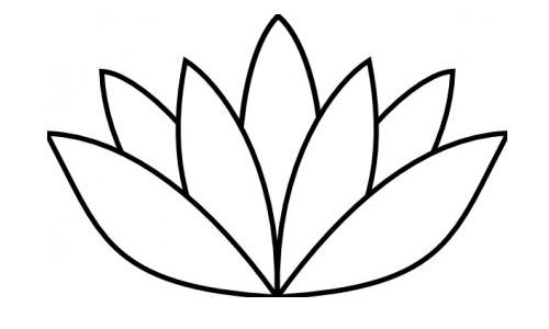 Gambar Bunga Kartun Hitam Putih Untuk Mewarna