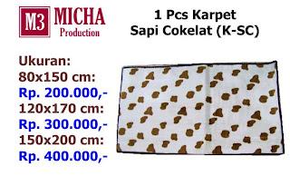 Karpet Sapi Cokelat