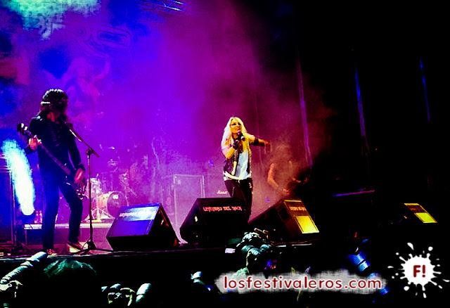 Doro. Festival Leyendas del Rock 2015