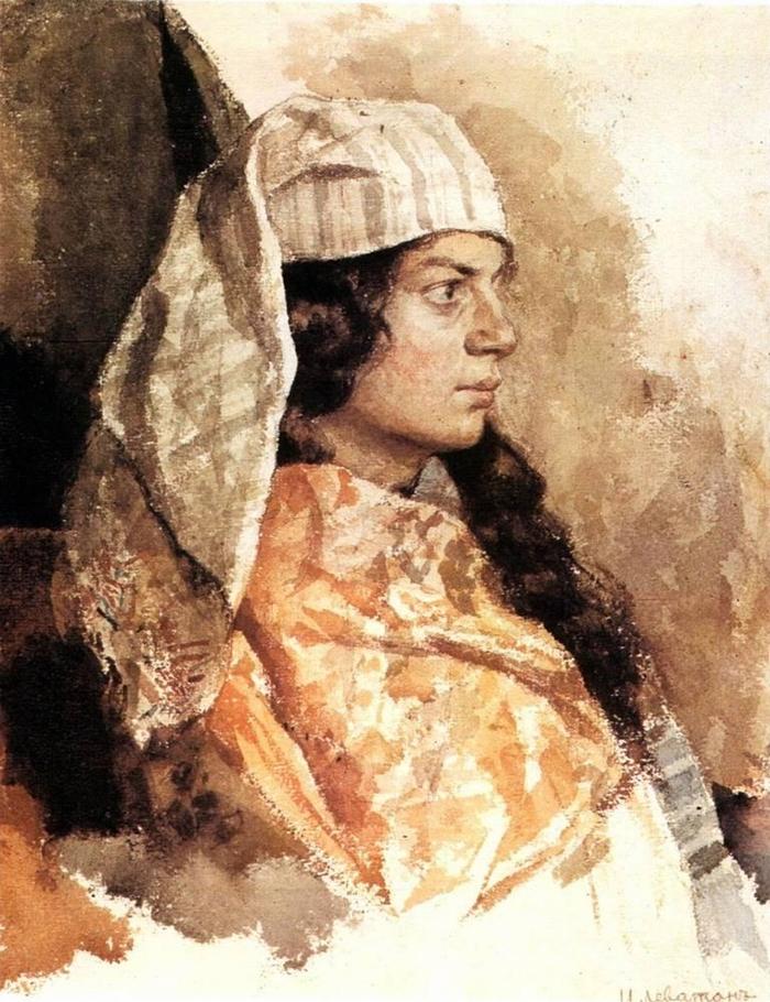 Isaac Levitan 1860-1900 | Landscape russian painter