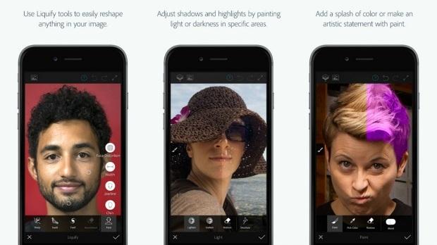Photoshop Fix Untuk iPhone dan iPad