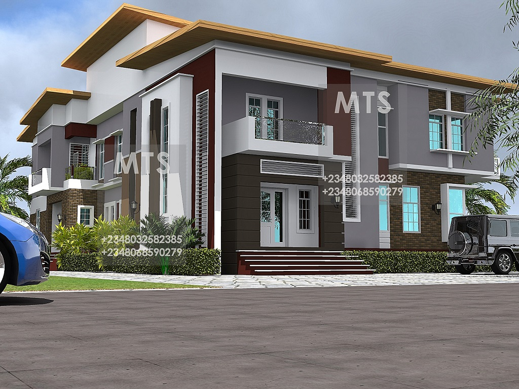 Mr olayemi 4 bedroom 3 bedroom twin duplex for 4 bedroom duplex design