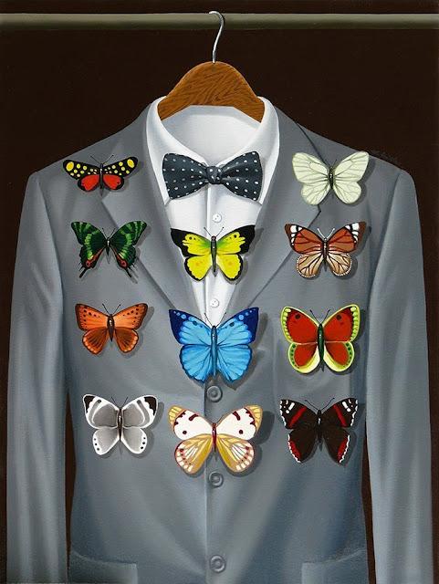 Postum Distinctions by Mihai Criste -- Højt dekoreret, jakke og butterfly 'medaljer'