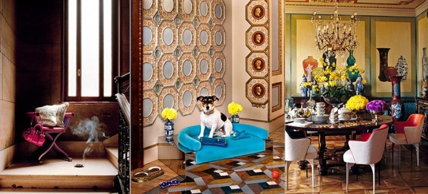 Celebrity Home Photographs by Douglas Friedman: Donatella Versace Home 3