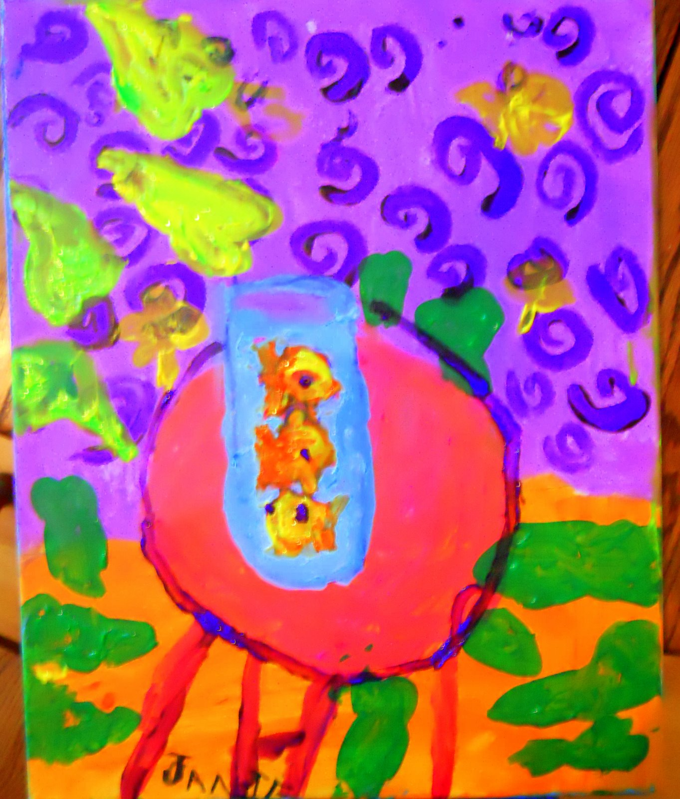 Laine Lea Paintings Childrens Art Class Matisse