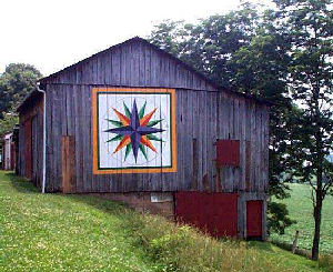 Quilt Patterns On Barns In Ky : The Antiquer s Field Guide: The American Barn Quilt Trail