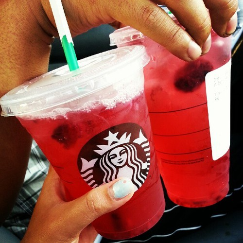 Project 21 Very Berry Hibiscus Tea From Starbucks