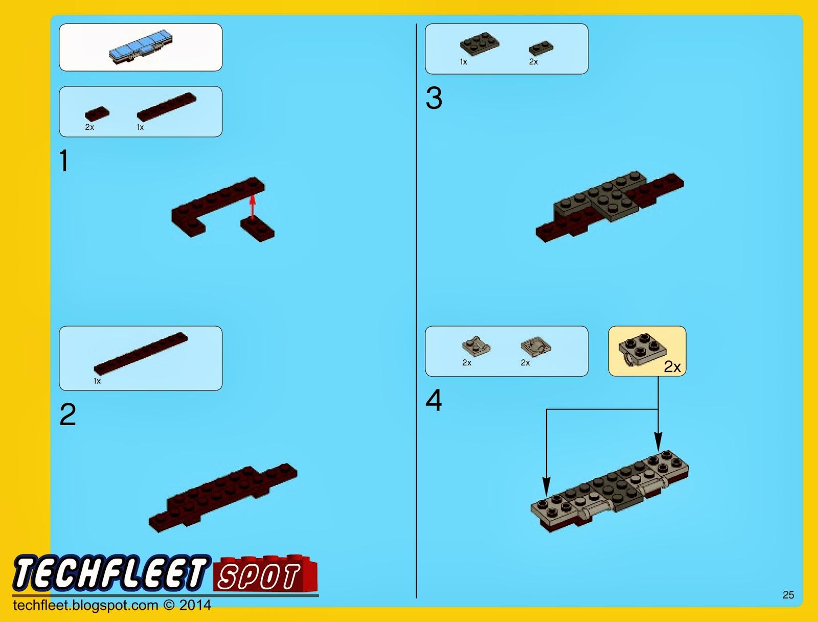 Techfleet Spot Lego Emmet 39 S Double Decker Couch
