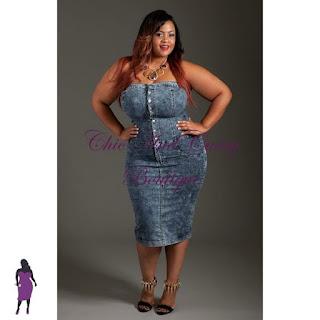 Modelos de vestido jeans plus size justinho - dicas e fotos