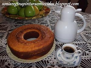 Cafézin com Bolo de Milho Verde!!!