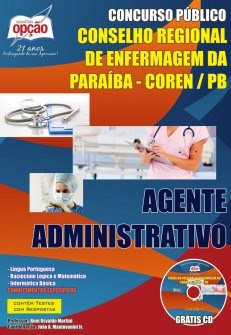 http://www.apostilasopcao.com.br/apostilas/1322/2302/conselho-regional-de-enfermagem-da-paraiba-coren-pb/agente-administrativo.php?afiliado=3680