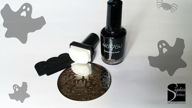 dischetto nail art halloween mo you_02