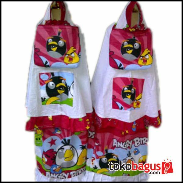 gambar mukena anak hello kitty setelan tas dan mukena anak lucu sarung ...